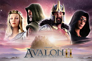 Avalon II – Quest for The Grail Logo