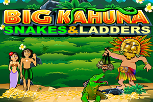 Big Kahuna Snakes and Ladders Logo