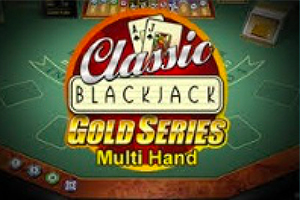 Multi-hand Blackjack Gold Logo