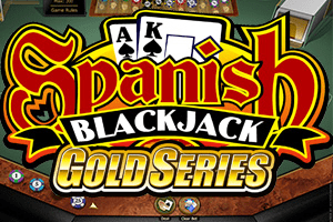 Spanish 21 Blackjack Gold Logo