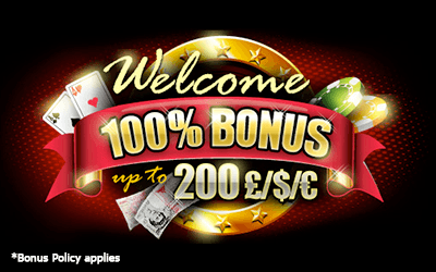 Welcome Deposit Bonus