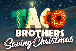 Taco Brothers Saving Christmas Logo