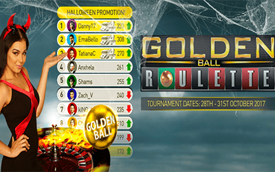 Golden Ball Tournament Halloween