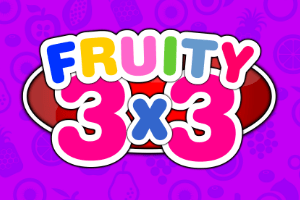 Fruity 3×3 Logo
